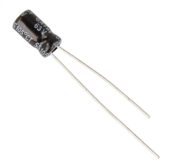 0.47uF | 63V Kondensator elektrolityczny mini 105°C YAGEO 7mm/4mm,0