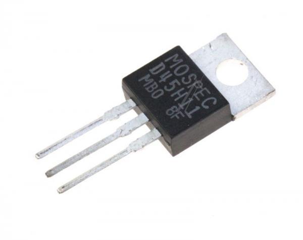D45H11 Tranzystor TO-220 (pnp) 80V 10A 40MHz,0
