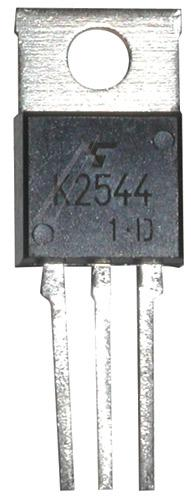 2SK2544 Tranzystor TO-220 (n-channel) 600V 6A 40MHz,0