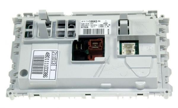 Moduł elektroniczny skonfigurowany do pralki 480111103386,0