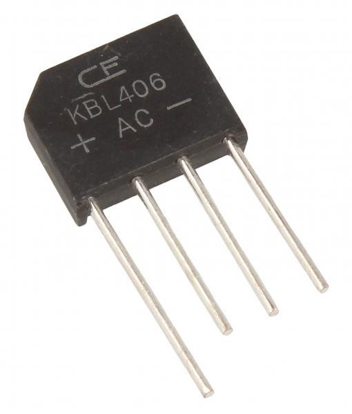 KBL06 Mostek prostowniczy 600V 4A,0