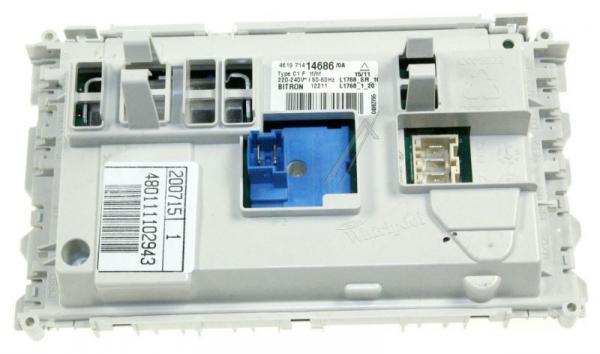 Moduł elektroniczny skonfigurowany do pralki 480111102943,0