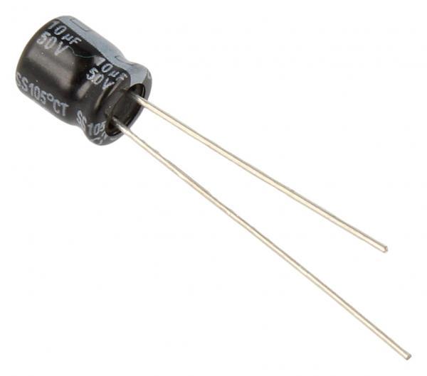 10uF | 50V Kondensator elektrolityczny mini 105°C YAGEO 7mm/6mm,0