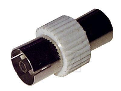 Łącznik COAX (wtyk/gniazdo) standard,0