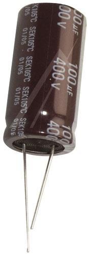 100uF | 400V Kondensator elektrolityczny 105°C 32mm/18mm,0