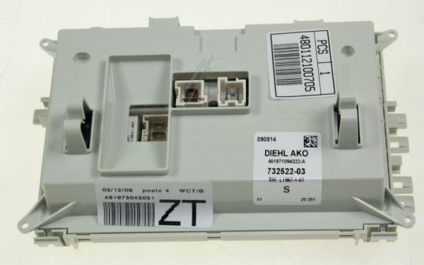 Moduł elektroniczny skonfigurowany do pralki 480112100705,0