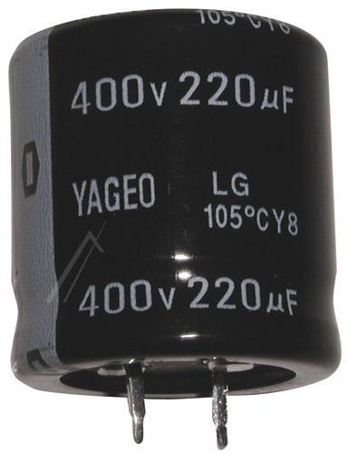 220uF | 400V Kondensator elektrolityczny 105°C 30mm/30mm,0