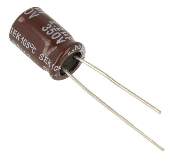 2.2uF | 350V Kondensator elektrolityczny 105°C 11mm/8mm,0