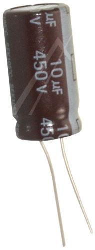 10uF | 450V Kondensator elektrolityczny 105°C 25mm/13mm,0