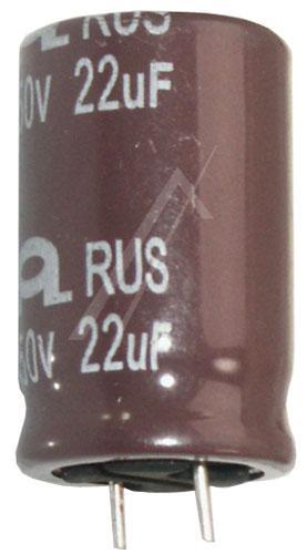 22uF | 50V Kondensator elektrolityczny 105°C 32mm/16mm,0