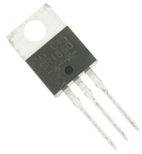 SR1660 Dioda Schottkiego SR1660 60V | 16A (TO-220-3),0