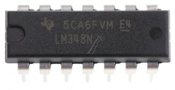 LM348N IC OPERATIONSVERSTRKER, DIP-14 TEXAS-INSTRUMENTS,0