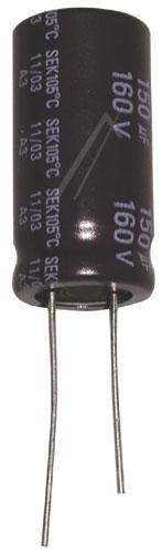 150uF | 160V Kondensator elektrolityczny 105°C 32mm/16mm,0