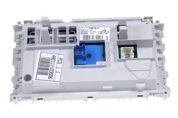 Moduł elektroniczny skonfigurowany do pralki 480111103006,0