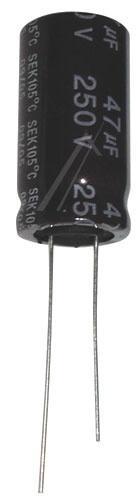 47uF | 50V Kondensator elektrolityczny 105°C 25mm/13mm,0