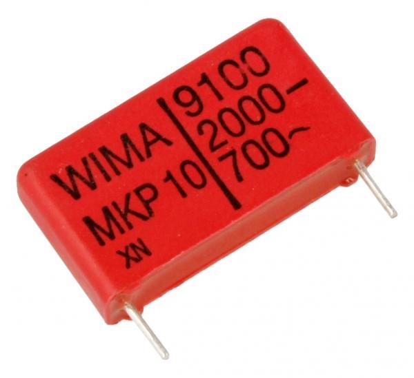 9100pF | 2000V Kondensator impulsowy MKP10 WIMA/22.5mm,0