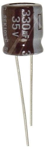 330uF | 35V Kondensator elektrolityczny 105°C 12mm/10mm,0