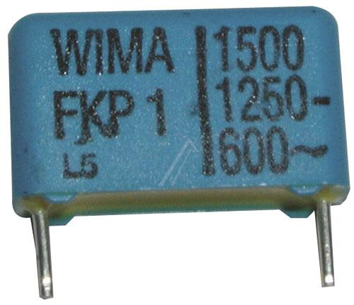 1.5nF | 1250V Kondensator impulsowy FKP1 WIMA 11mm,0