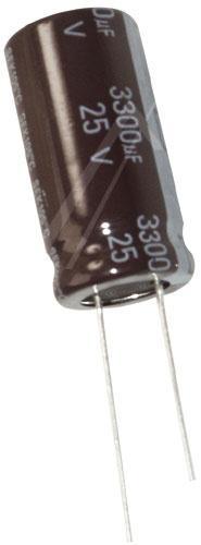 3300uF | 25V Kondensator elektrolityczny 105°C 25mm/16mm,0