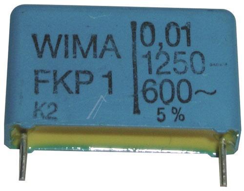10nF   1250V Kondensator impulsowy FKP1 WIMA 16.5mm,0