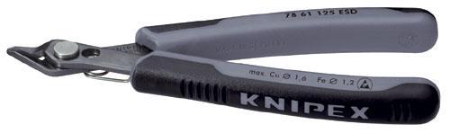 Szczypce boczne 7861125ESD Knipex,0
