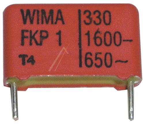 330pF | 1600V Kondensator impulsowy FKP1 WIMA 11mm,0
