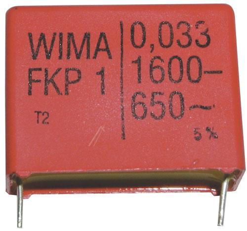 33nF | 1600V Kondensator impulsowy FKP1 WIMA 31.5mm,0