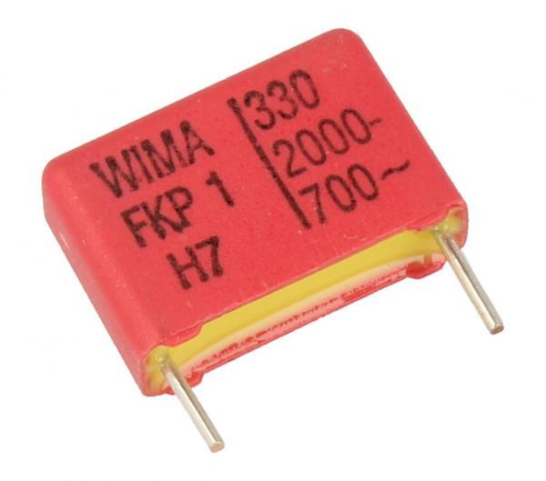 330pF   2000V Kondensator impulsowy FKP1 WIMA 12.5mm,0
