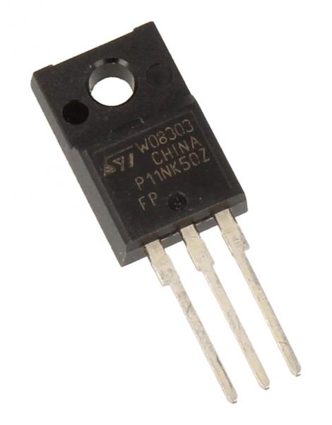 STP11NK50ZFP Tranzystor MOS-FET TO-220FP (n-channel) 500V 10A 55MHz,0