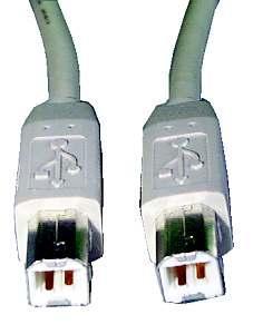 Kabel USB B 1.8m (wtyk/ wtyk) standard,0