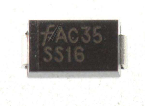 60V1A Dioda Schottkiego SS16,0