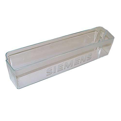 Balkonik | Półka na butelki na drzwi chłodziarki (dolna) do lodówki Siemens 00356676,2