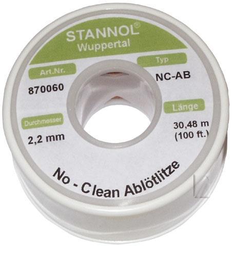 2.2mm Taśma do rozlutowywania Stannol (30m),0