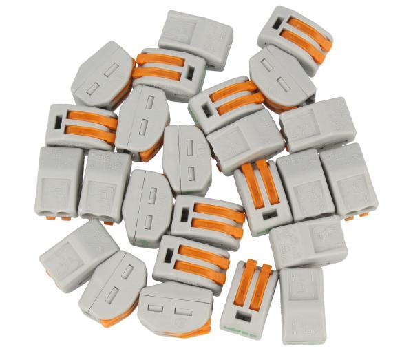 Złączka instalacyjna | (2-przewodowa) 10szt. WAGO,0