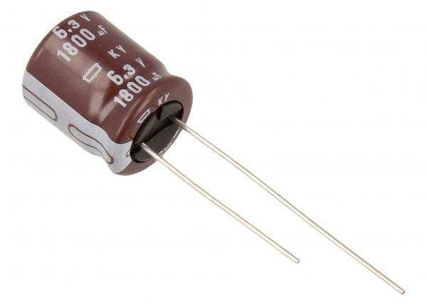 1800uF | 6.3V Kondensator elektrolityczny 105°C 15mm/12.5mm,0