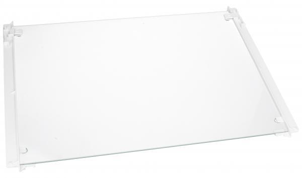 Szyba | Półka szklana zamrażarki kompletna z ramkami dolna do lodówki 727248400,0