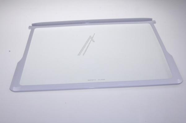 Szyba | Półka szklana szklana z ramkami kompletna do lodówki 42033142,0