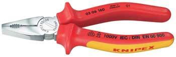 Kombinerki | Szczypce uniwersalne 0306160 Knipex,0