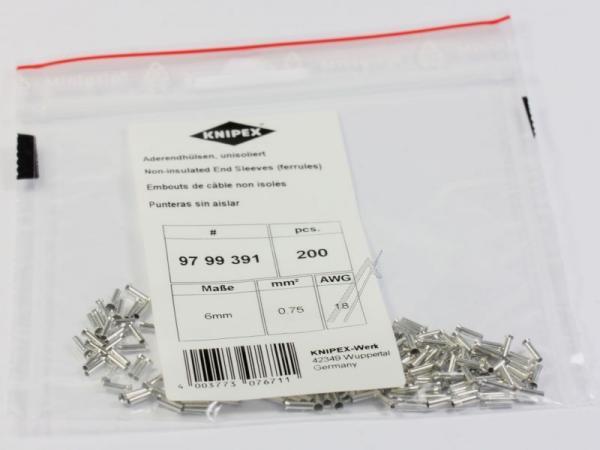 Wtyk | Konektor tulejkowy 9799391 Knipex,0