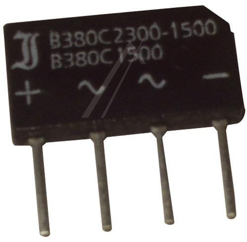 B380C23001500 Mostek prostowniczy 800V 2.3A,0