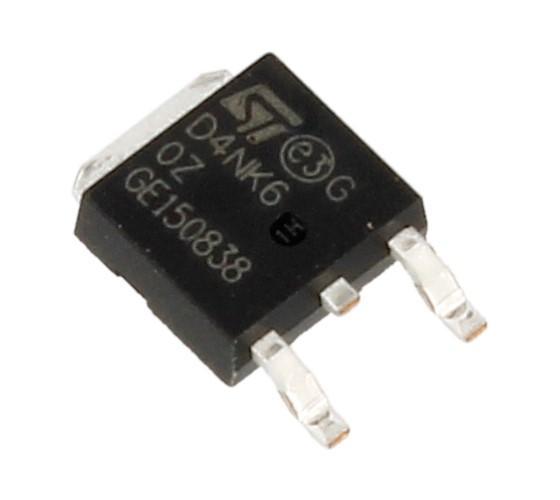 STD4NK60ZT4 Tranzystor MOS-FET D-PAK (n-channel) 600V 4A 100MHz,0