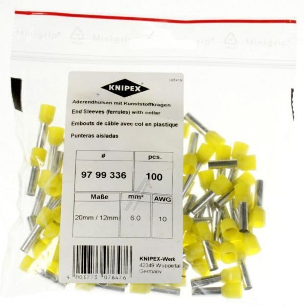 Wtyk | Konektor tulejkowy 9799336 Knipex,0