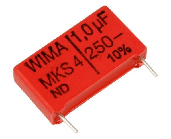 1uF | 250V Kondensator impulsowy MKS4 WIMA,0