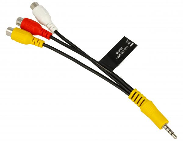 Kabel JACK 3.5mm 4 pin - CINCH (wtyk/ gniazdo x3) BN3901154H,0