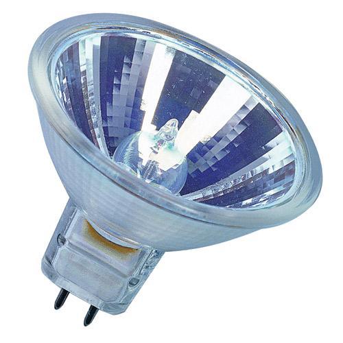 Żarówka halogenowa GU5,3 20W osram decostar 51 eco z reflektorem (Ciepł biały),0