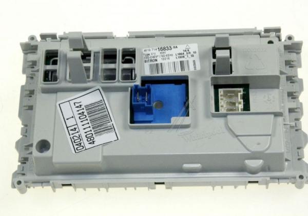 Moduł elektroniczny skonfigurowany do pralki 480111104147,0