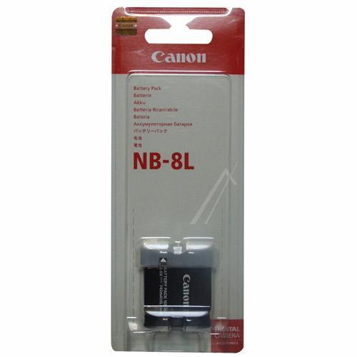 NB-8L Bateria   Akumulator 3.7V 740mAh do kamery 4267B001,0