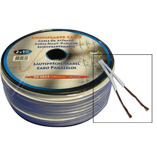 Kabel 100m głośnikowy 1.5mm x2,0