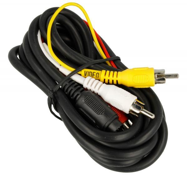 Kabel 2m DIN 8pin - CINCH (wtyk/ wtyk x3) standard,0