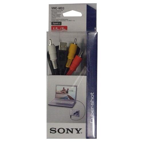 VMCMD3CE SONY A/V-UNIVERSALANSCHLUSSKABEL, USB, GLEICHSTROMANSCHLUSS SONY,0